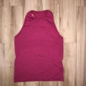 Lululemon swiftly tech racerback tank red 6